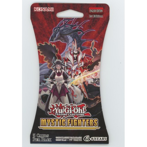 Yugioh Mystic Fighters Blister Pack