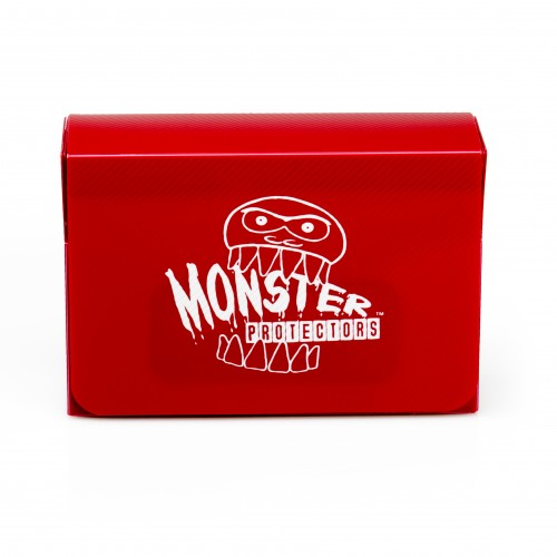 Monster Double Deck Box Matte Red