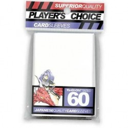 Players Choice White Yugioh Sized Sleeves