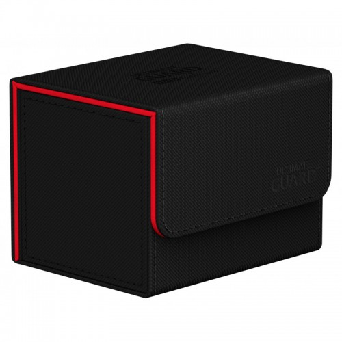 Ultimate Guard Sidewinder 100+ 2020 Black and Red Deckbox