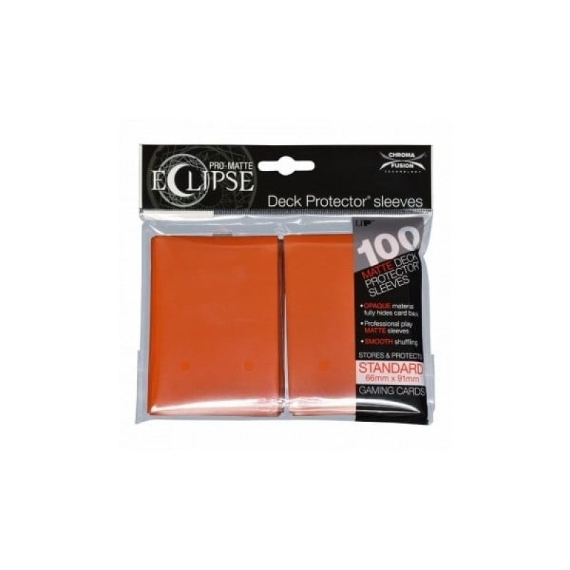 100 Ultra Pro RED PRO MATTE DECK PROTECTORS SLEEVES Standard Pokemon Magic MTG