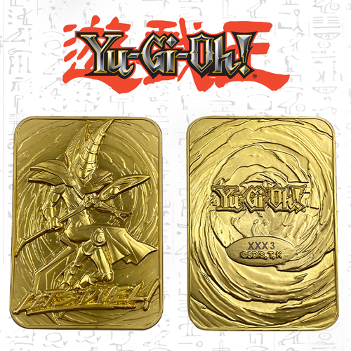 Yugioh Dark Magician Limited Edition Gold Card