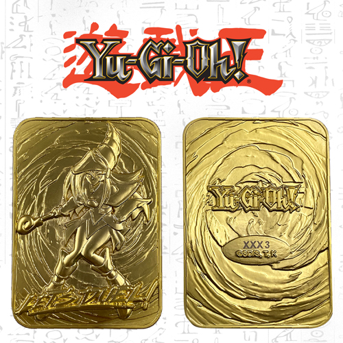 Yugioh Dark Magician Girl Limited Edition Gold Card