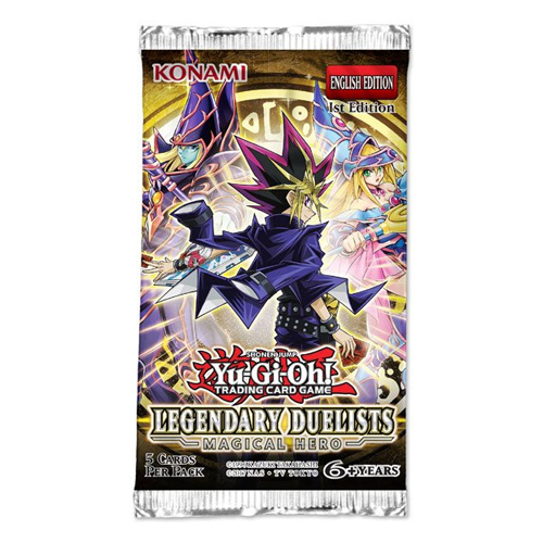 Yugioh Legendary Duelists 6 Magical Hero Booster Pack