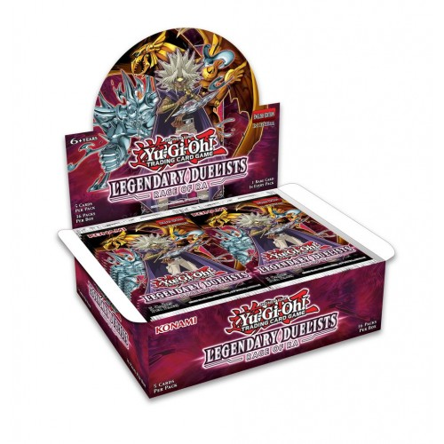 Yugioh Legendary Duelist 7 Rage of Ra Booster Box