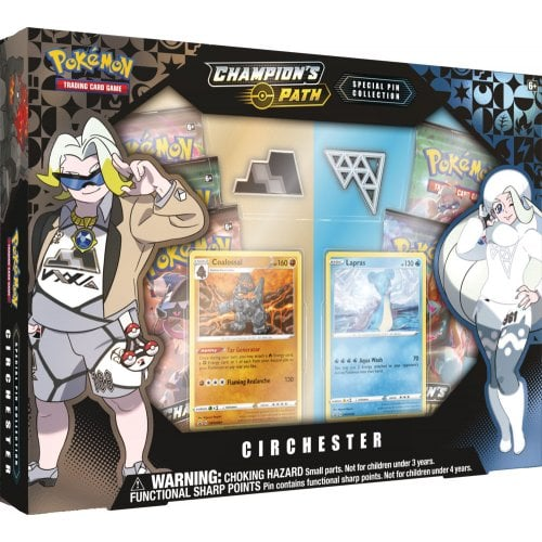 Pokemon Champions Path Special Pin Collection Circhester