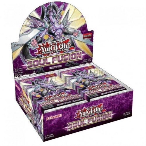 Yugioh Soul Fusion Booster Pack x1