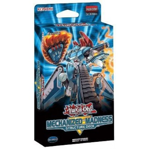 Yugioh Mechanized Madness Structure Deck x8