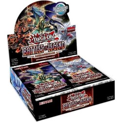 Yugioh Battles of Legend Armageddon Booster Case