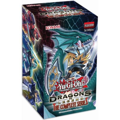 Yugioh Dragons of Legend The Complete Series Booster Box